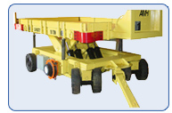 20,000lb. Scissor Lift Deck Trailer