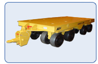 Automotive Die Handling Trailer 75 Ton Capacity
