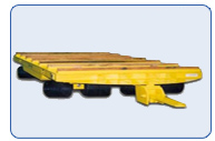 Automotive Die Handling Trailer 40 Ton Capacity