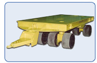 Automotive Die Handling  Trailer 60 Ton Capacity