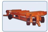 55 Ton Automotive Die Handling Trailer
