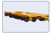 Equipment Trailer 64-Wheels 300 Ton Capacity
