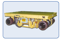Bi-Directional Rubber Rail Transfer Car 60 Ton Capacity