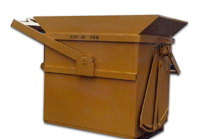 Industrial Buckets and Hoppers by Allegheny Material